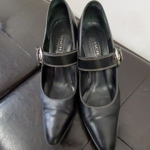 Coach kitten heels